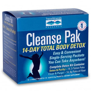 Cleanse Pak 14-Day Total Body Detox Kit by Trace Minerals (2588215246933)