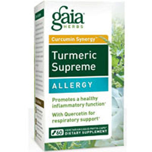 Turmeric Supreme Allergy 60 Caps by Gaia Herbs