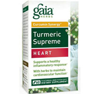 Turmeric Supreme Heart 60 Caps by Gaia Herbs (2590141972565)