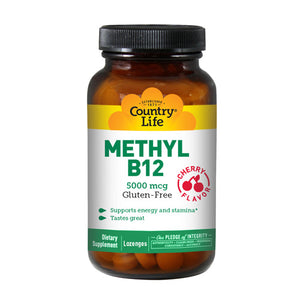Methyl B-12 60 Lozenges by Country Life