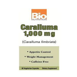 Caralluma 60 Veg Caps by Bio Nutrition Inc (2590168055893)