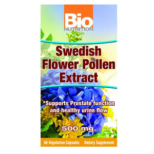 Swedish Flower Pollen 60 Vcaps by Bio Nutrition Inc (2588233629781)