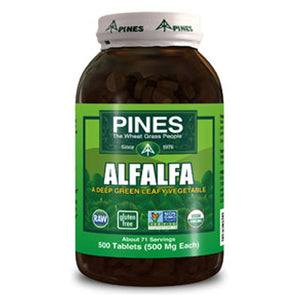 Alfalfa 500 Tab by Pines Wheat Grass (2588237332565)
