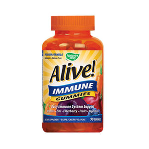 Alive! Immune Gummies 90 Chews by Nature's Way