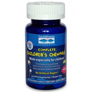 Complete Children's Chewable 2 Wafers by Trace Minerals (2590150393941)
