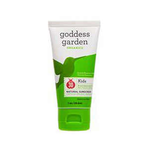 Natural Sunscreen SPF30 For Kids 1 Oz by Goddess Garden (2588274360405)