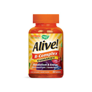 Alive! B-Complex Gummies 60 Count by Nature's Way
