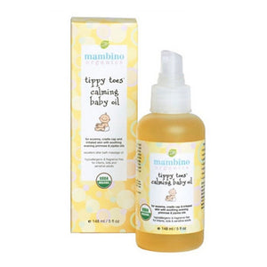 Tippy Toes Calming Baby Oil 5 Oz by Mambino Organics (2588283469909)