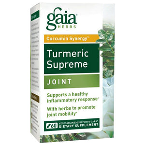 Turmeric Supreme Joint 60 Caps by Gaia Herbs