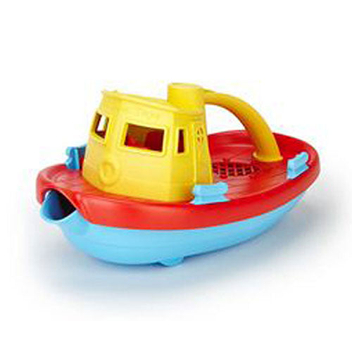 Tugboat Yellow 1 Count by Green Toys