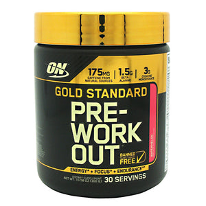 Gold Standard Pre-Workout Watermelon 10.58 oz by Optimum Nutrition (2590188142677)