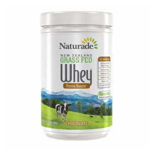 New Zealand Grass Fed Whey Protein Chocolate 17.79 oz by Naturade (2588351758421)
