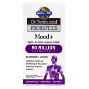 Dr. Formulated Probiotics Mood Plus 60 Caps by Garden of Life (2587777859669)
