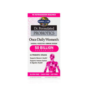 Dr. Formulated Probiotics Once Daily Womens 30 Caps by Garden of Life, (2588388229205)