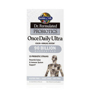 Dr. Formulated Probiotics Once Daily Ultra 30 Caps by Garden of Life (2588388753493)