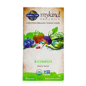 B-Complex Once Daily 30 Chews by Garden of Life (2588388851797)