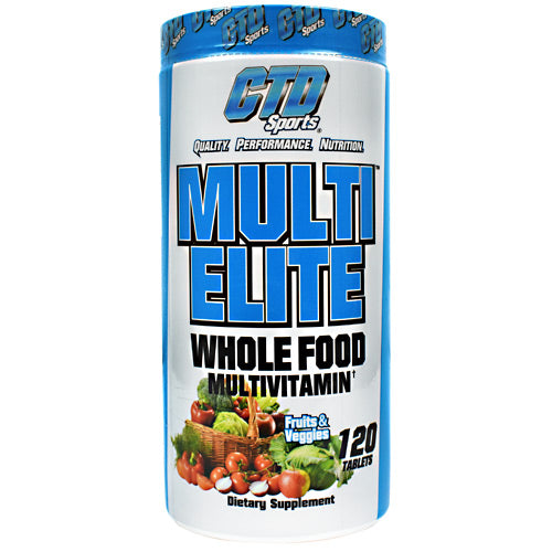MULTI-ELITE VITAMIN 3085 mg 120 Tabs by CTD Labs