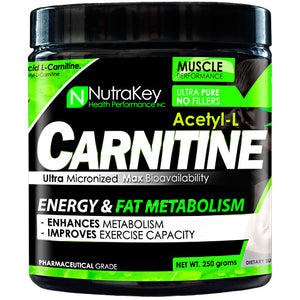 ACETYL L-CARNITINE 250 grams by Nutrakey (2590260068437)