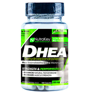 DHEA 100 caps by Nutrakey (2588449996885)