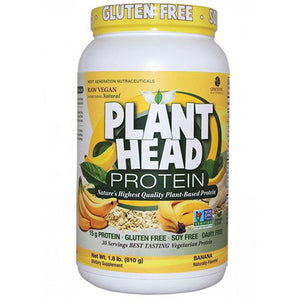 Plant Head Protein Banana 1.8 lbs by Nature's Answer (2590198136917)