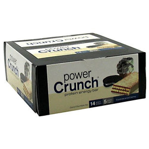 Power Crunch Cookies & Cream 1.4 oz(pack of 12) by Power Crunch (2590246797397)