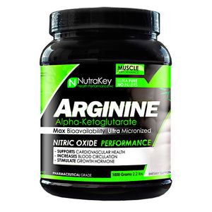 ARGININE AKG 1000 Grams by Nutrakey (2590259183701)