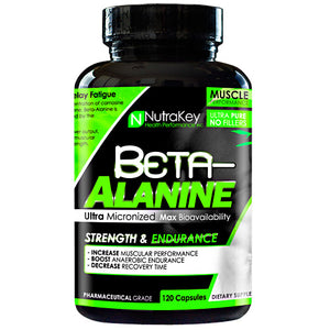BETA ALANINE 120 caps by Nutrakey (2590259773525)