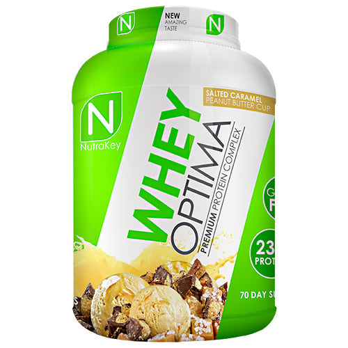 WHEY OPTIMA Caramel Peanut Butter 5 lbs by Nutrakey