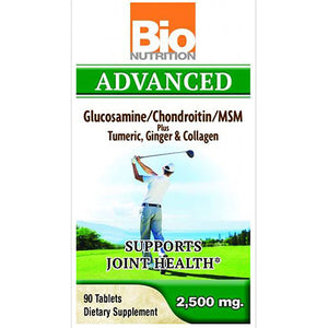 Advance Glucosamine 90 Tabs By Bio Nutrition Inc,