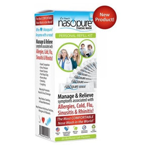 Personal Refill Kit 20 Packets by Nasopure