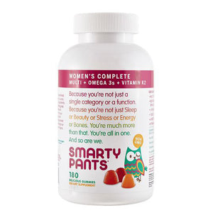 Women's Complete Vitamins 180 Gummies by SmartyPants (2590277894229)