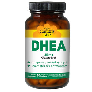 DHEA 90 Caps by Country Life (2587245707349)