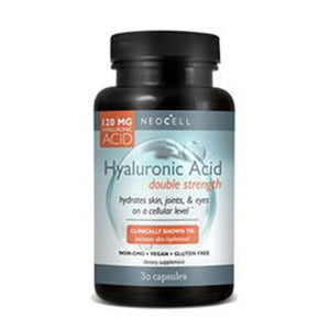 Hyaluronic Acid Double Strength 30 Caps by Neocell Laboratories
