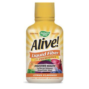 Alive! Liquid Fiber with Prebiotics Citrus 16 fl oz by Nature's Way (2590186864725)