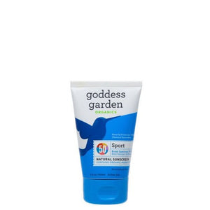 Natural Sport SPF50 Sunscreen Tube 6 Oz by Goddess Garden (2587760164949)