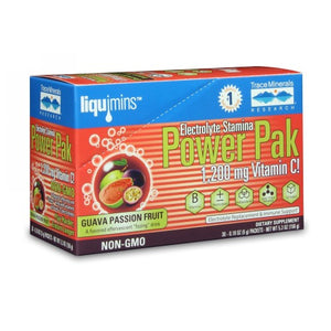 Electrolyte Stamina Power Pack Guava Passion Fruit 1 Packet by Trace Minerals (4753976754261)