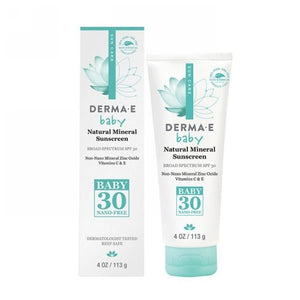 SPF 30 Baby Natural Mineral Sunscreen 4 Oz by Derma e (2590295326805)