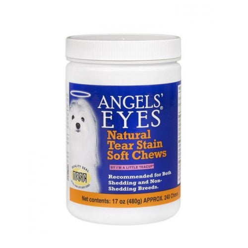 Natural Soft Chews For Dogs Chicken Flavor 240 Chews by Angels' Eyes