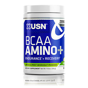 Bcaa Aminos Plus Blue Raspberry 30 Servings by USN