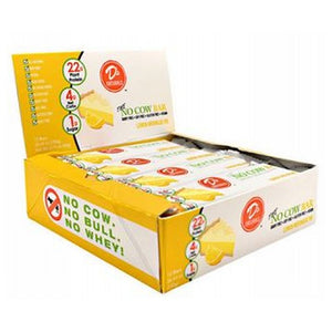 No Cow Bar Lemon Meringue 12 Bars by D's Naturals (4753978818645)