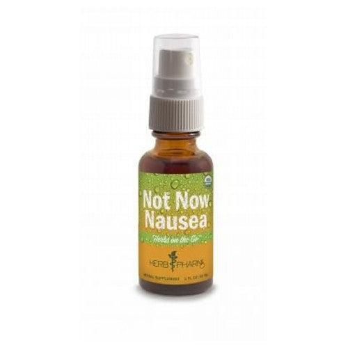 Herbs on The Go Not Now Nausea 1 Oz by Herb Pharm