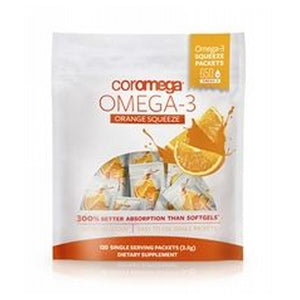 Omega-3 Orange Squeeze 90 Count by Coromega (2590327537749)