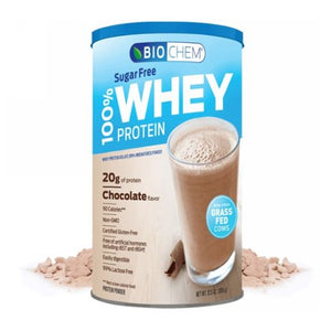 100% Whey Sugarfree Chocolate 12.5 Oz by Biochem (2590329503829)
