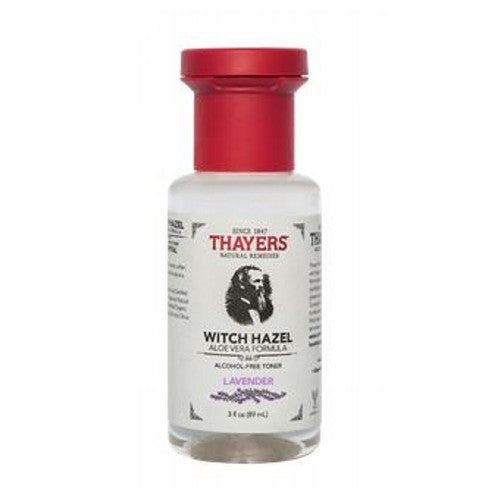 Lavender Witch Hazel With Aloe Vera Toner 3 Oz by Thayers