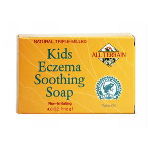 Kids Eczema Soap 4 Oz by All Terrain (2587844837461)