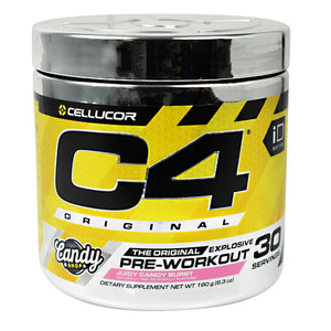 C4 Original Pre-Workout Juicy Candy Burst 30 Servings by Cellucor (2590016176213)