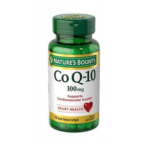 Co Q-10 24 X 75 Softgels by Nature's Bounty (4754001789013)