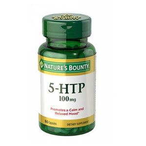 5-HTP 24 X 60 Caps by Nature's Bounty (4753995530325)