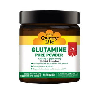 Glutamine Pure Powder 9.7 Oz by Country Life