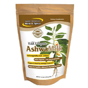 AshwaMilk Drink Mix 3.5 Oz by North American Herb & Spice (2587875606613)